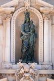 Details of the Basilica della Santa Casa in Italy Marche. An image of details of the Basilica della Santa Casa in Italy Marche royalty free stock image