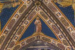 Details of the battistero di san Giovanni, Siena, Italy Stock Photo