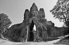 Details of the Bayon Royalty Free Stock Photos