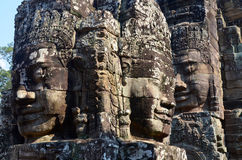 Details of the Bayon Royalty Free Stock Image