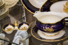 Details of beautiful tableware Royalty Free Stock Photos