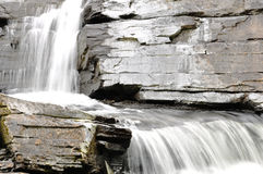 Details of beautiful waterfall Stock Images