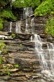Details of beautiful waterfall royalty free stock photo