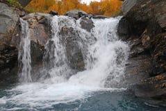 Details of beautiful waterfall Stock Photos