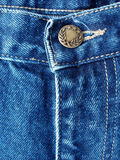 Details from blue jeans Stock Image
