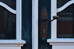 Details of an old frontdoor royalty free stock images