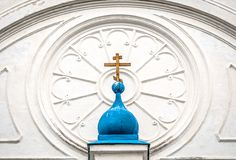 Details of Bogolubovo monastery. Royalty Free Stock Images