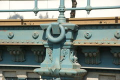 Details Bridge , Budapest Royalty Free Stock Photo