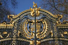 Details of the Canada Gate in London, UK. Royalty Free Stock Photos