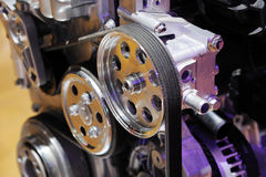 Details of car engine Royalty Free Stock Image