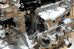 Details of car engine Stock Image