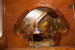 Details from Casa Batllo. Barcelona - Spain Stock Images