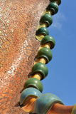 Details of Casa Batllo in Barcelona, Spain Stock Photography