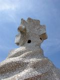 Details Of Casa La Pedrera - Gaudi's Work Stock Photos