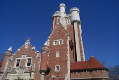 Details of Casa Loma Castle stable in Toronto, Canada Stock Image