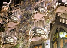 Details of  Casa Batllo Stock Photos