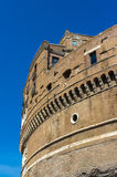 Details of Castel Sant'Angelo in Rome, Italy Stock Photos
