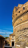 Details of Castel Sant'Angelo in Rome Royalty Free Stock Photography
