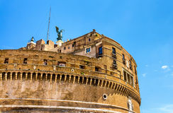 Details of Castel Sant'Angelo in Rome Stock Photos