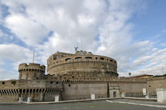 Details of Castel Santa'angelo Royalty Free Stock Photography