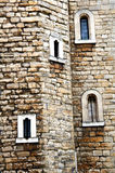 Details of castle wall Royalty Free Stock Image