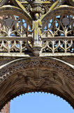 Details cathedral of Albi in France Royalty Free Stock Photography
