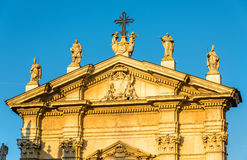 Details of the Cathedral of Mantua Royalty Free Stock Images