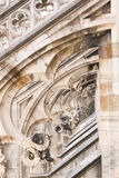 Details of the Cathedral of Milan Stock Photo