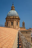 Details of Cathedral of Palermo, Sicily. Italy Royalty Free Stock Photography