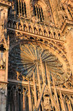 Details of cathedral in Strasbourg Stock Photo
