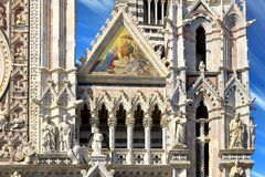 Details of Cattedrale di Santa Maria Assunta Royalty Free Stock Photography