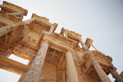 Details of Celsus Library Ephesus Royalty Free Stock Image