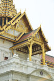 Details of the Chakri Maha Prasat Throne inside the Grand Palace Royalty Free Stock Photos