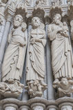 Details Chartres Royalty Free Stock Photo