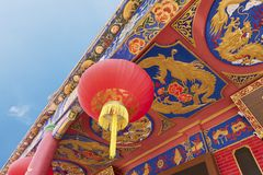 Details of Chinese architecture Royalty Free Stock Photography