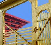 Details of chinese building Stock Images