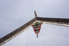 Details of Chinese temple in Penang, Malaysia Stock Photos