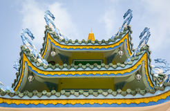 Details of Chinese temple Stock Photo