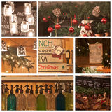 Details of christmas fair Royalty Free Stock Photos