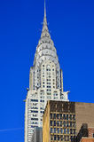 Details of the Chrysler building facade Royalty Free Stock Images