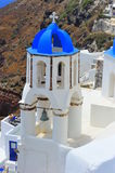 Details of a Church from Oia, Santorini Royalty Free Stock Images