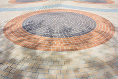 Details of circle design stone Royalty Free Stock Images