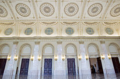 Details of classical architecture in The Throne Room Stock Photo
