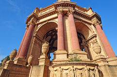 Details of Classical Corinthian Columns Royalty Free Stock Image