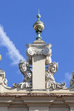 Details of Cloth Hall  Sukiennice, Main Market Square, Krakow,Poland Stock Image