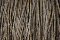 Details of the cloth, rub the dirt floor in the near term. Stock Image