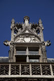 Details of Cluny Museum in Paris. Architectural details of the Cluny Medieval museum in Paris Stock Photos