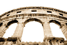Details of colosseum Stock Image