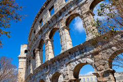 Details of colosseum Stock Photo