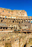 Details of Colosseum or Flavian Amphitheatre in Rome Royalty Free Stock Images